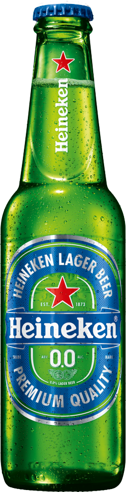 24 x 330ml Heineken 0.0% Zero Alcohol Beer
