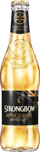 24 x 330ml Strongbow Apple Cider British Dry