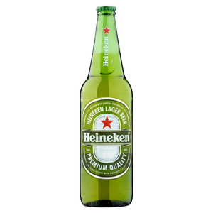 6 x 650ml Heineken Beer Pint Case