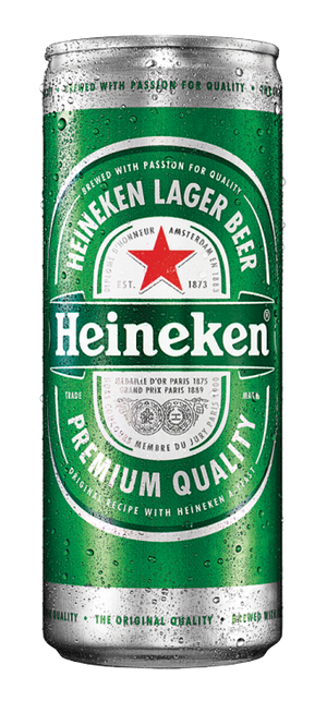 6 x 330ml Heineken Slim Beer Can