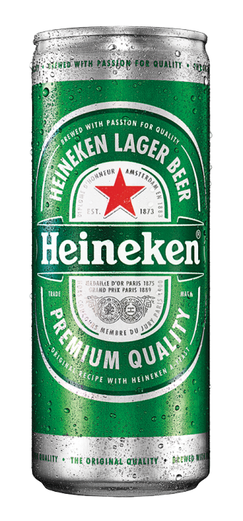 24 x 320ml Heineken Slim Beer Can