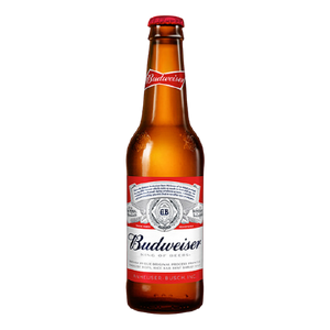 6 x 355ml Budweiser Beer Pint