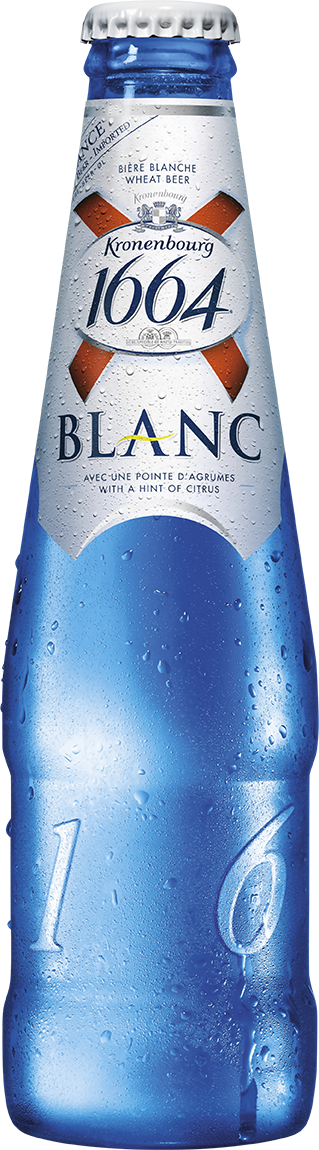 24 x 330ml Kronenbourg 1664 Blanc Beer