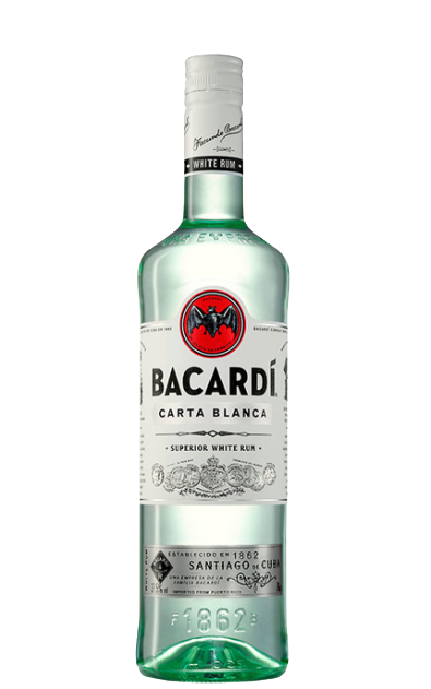 Bacardi Superior Carta Blanca White Rum 700ml