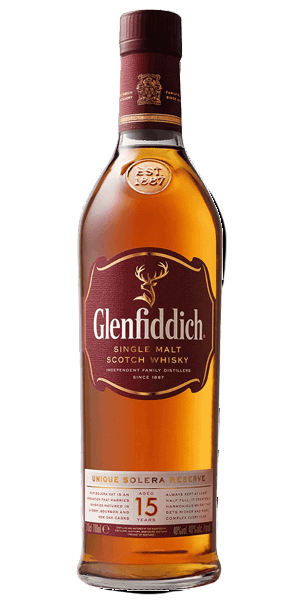 Glenfiddich 15 Year Old Solera Whisky (YO) 700ml