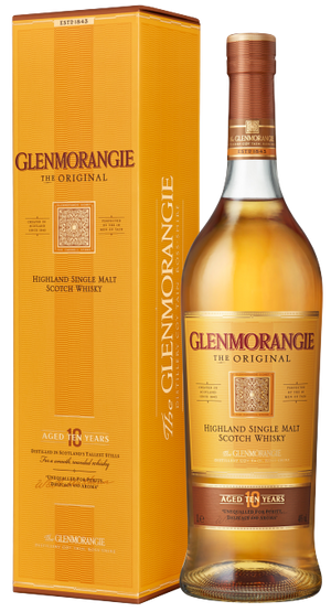 Glenmorangie The Original 10 Year Old (YO) Highland Single Malt Scotch Whisky 700ml
