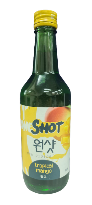ONESHOT Soju Tropical Mango 360ml