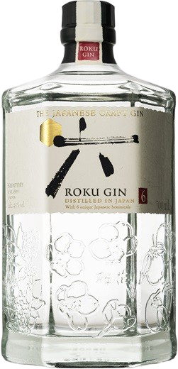 Roku Gin 700ml (The Japanese Craft Gin)