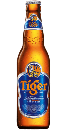 6 x 330ml Tiger Beer Bottle Case