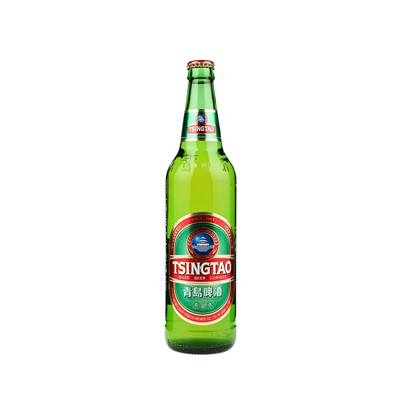 12 x 640ml Tsingtao Beer Bottle Case