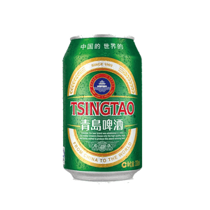 6 x 330ml Tsingtao Beer Can Case