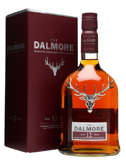 The Dalmore 12 Year Old Highland Single Malt Scotch Whisky 700ml (With Gift Box)