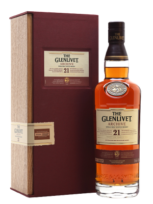 The Glenlivet Archive Single Malt 21 Year Old (YO) With Gift Box 700ml