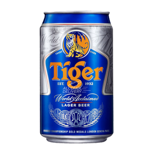 6 x 320ml Tiger Beer Can Case