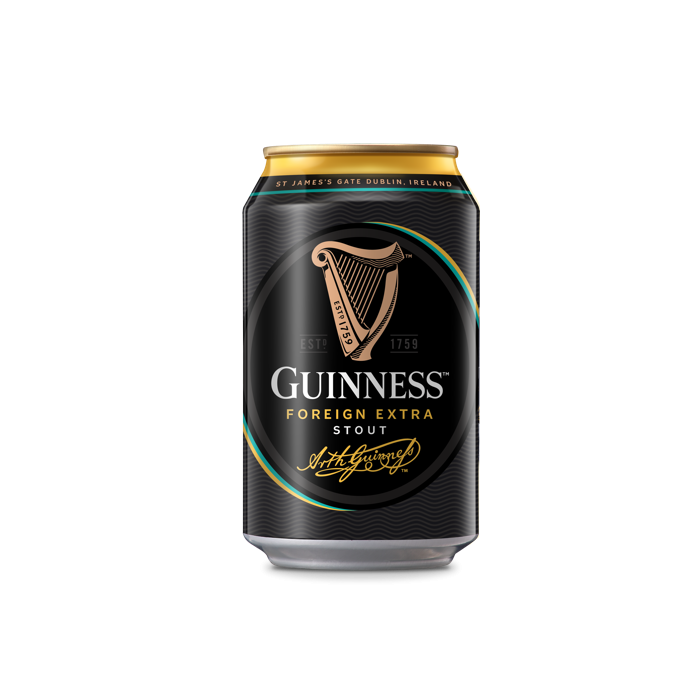 24 x 330ml Guinness Stout Beer Can Case (Sale)