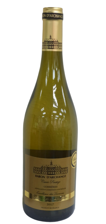 Baron d'Archange Corbieres White Wine 750ml