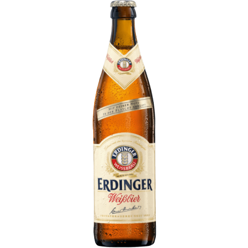 12 x 500ml Erdinger Weiss Beer Pint Case