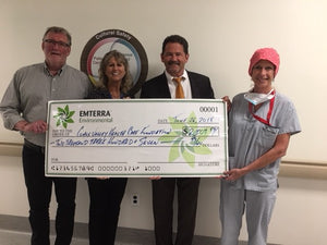 Emterra Environmental contributes to new operating room at hospital