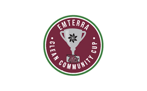 Emterra Environmental and Peterborough Petes launching the Emterra Clean Community Cup™ initiative