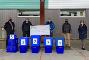 Make Your Contribution at the Curb: Emterra Environmental Donates to Comox Valley Healthcare Foundation for Seventh Year In a Row.