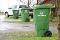 Curbside Organics Collection Green Carts Set for Delivery throughout April