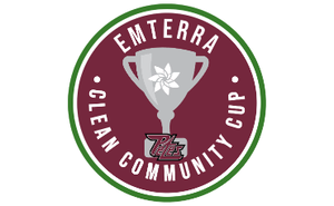 Emterra Environmental partners with the Peterborough Petes to introduce the Emterra Clean Community Cup™