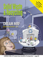 Cover Story of Solid Waste & Recycling Magazine