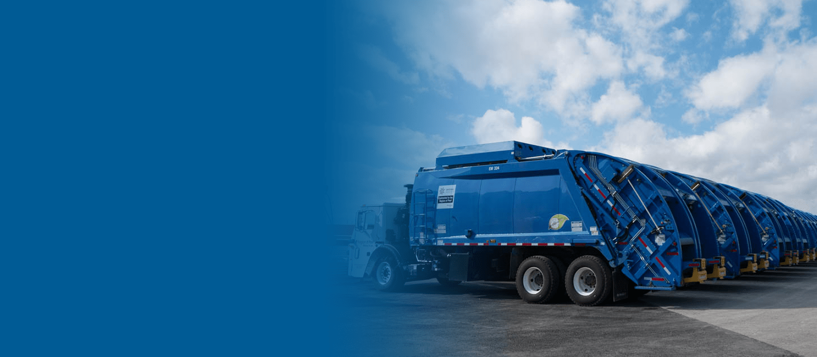 Leading the way with compressed natural gas in the waste and recycling industry.