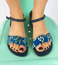 Louisa Sandal in Blue