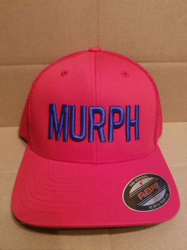 MURPH RED Flexfit Hat