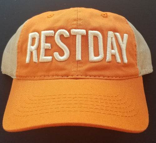 RESTDAY Unstructured (Burnt Orange)