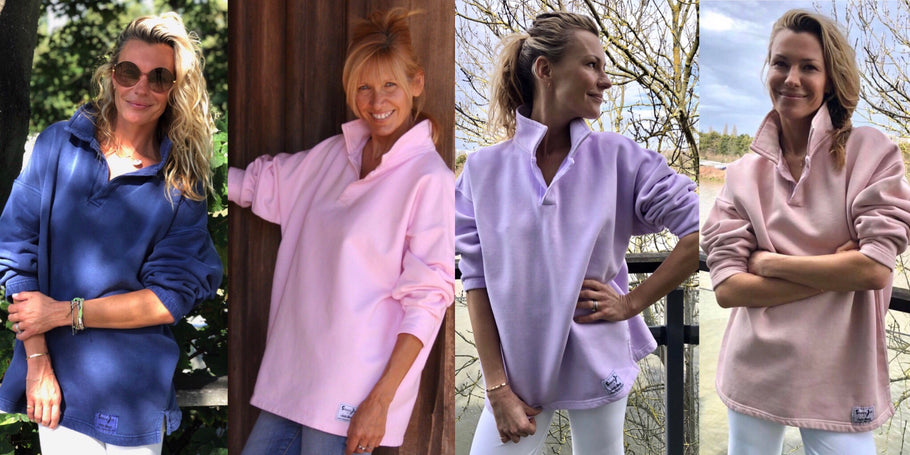 COLLAR 02S - NEW COLOURS LAVENDER & WILD ROSE IN STOCK NOW