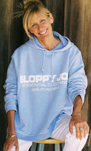 Load image into Gallery viewer, 05 HOODED SQUARE SWEATSHIRT - Baby Blue