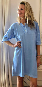 Sloppy Joe Dress - Baby Blue