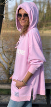 Load image into Gallery viewer, DESIGNER POUCH HOOD - Ballet Pink