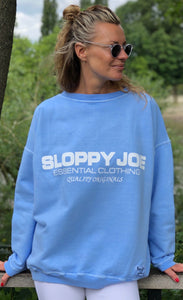 05 CLASSIC SQUARE SWEATSHIRT - Baby Blue - SIZE 2