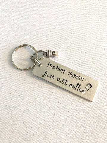 Coffee keychain