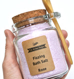 Rose Fizzing Bath Salt