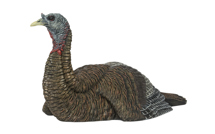 Zink Avian-X Laydown Hen Turkey Decoy