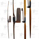 Ben Pearson Osage Longbow with Bear Quiver - Not Shootable