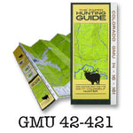 DIY Hunting Map - Colorado GMU 42-421