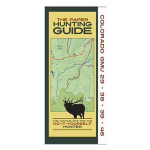 DIY Hunting Map - Colorado GMU's 29-38-39-46