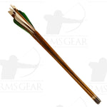 "Used - 24"" Fletched Wood Arrows - USED67HI"