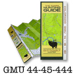 DIY Hunting Map - Colorado GMU 44-45-444