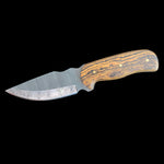 Wolf Track Custom Damascus Knife - WT181DG
