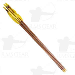 Used - 72# Fletched Wood Arrows - USED19PI