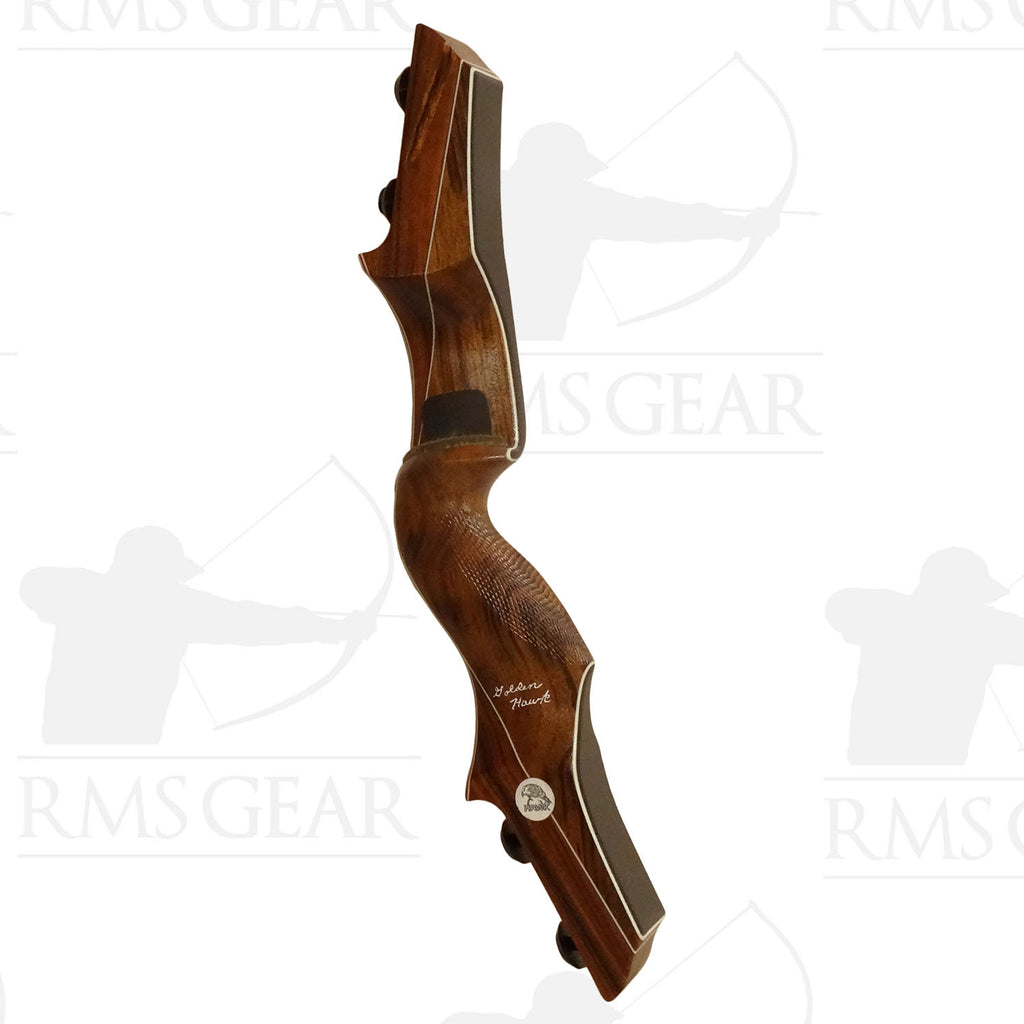 "Hawk Riser - 17"" RH Tigerwood/Mora - 0421"