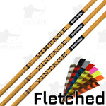 Black Eagle Vintage Fletched Arrows