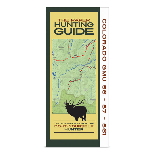 DIY Hunting Map - Colorado GMU's 56-57-561