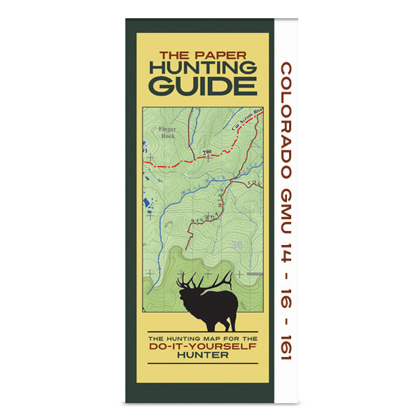 DIY Hunting Map - Colorado GMU's 14-16-161